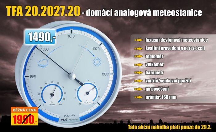 Meteostanice TFA 20.2027.20