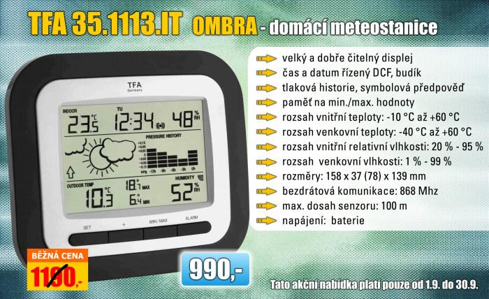 Meteostanice TFA 35.1113.IT OMBRA