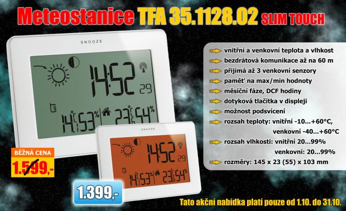 Meteostanice TFA 35.1128.02 SLIM TOUCH