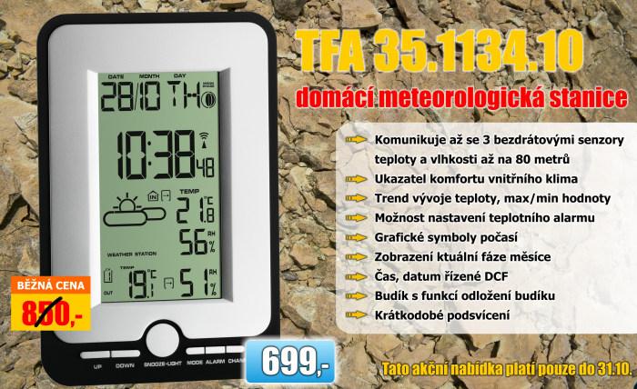 Bezdrátová meteostanice TFA 35.1134.10 MULTY