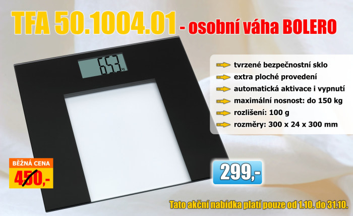 Osobní váha TFA 50.1004.01 BOLERO