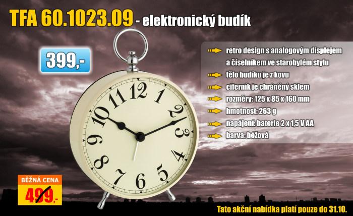 Elektronický budík TFA 60.1023.09