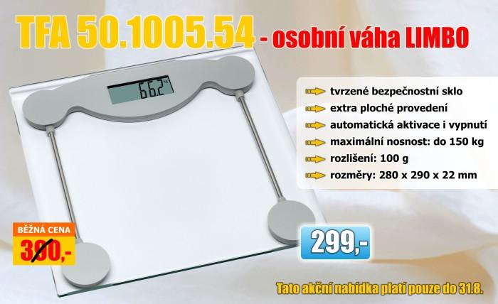 Osobní váha TFA 50.1005.54 LIMBO