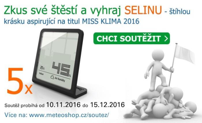 Zkus štěstí a vyhraj SELINU - štíhlou krásku aspirující na titul MISS KLIMA 2016