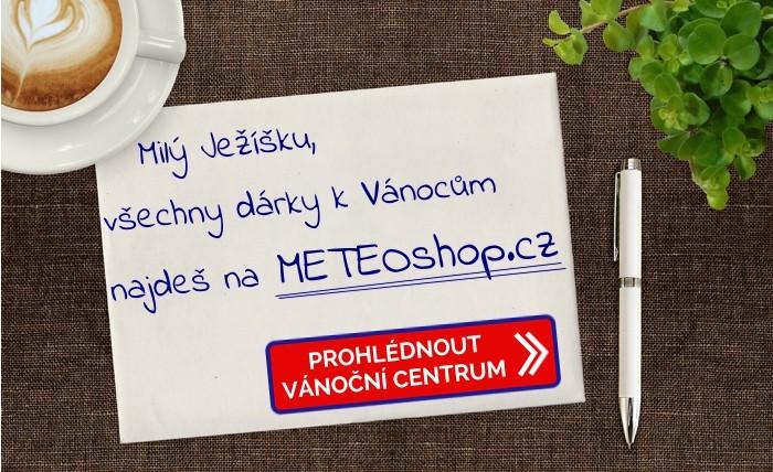 Hledáte tipy na vánoční dárky - navštivte naše vánoční centrum na METEOshop.cz