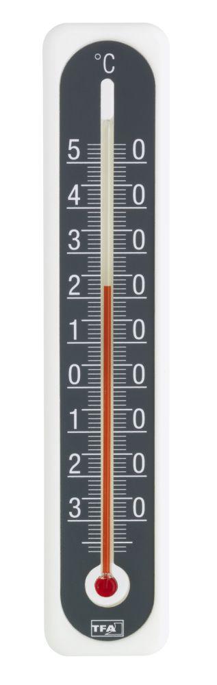 Nástěnný teploměr TFA 12.3049.10 pro vnitřní/venkovní použití