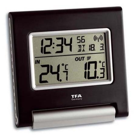 Bezdrátový teploměr s hodinami řízenými rádiem TFA 30.3030.IT SPOT