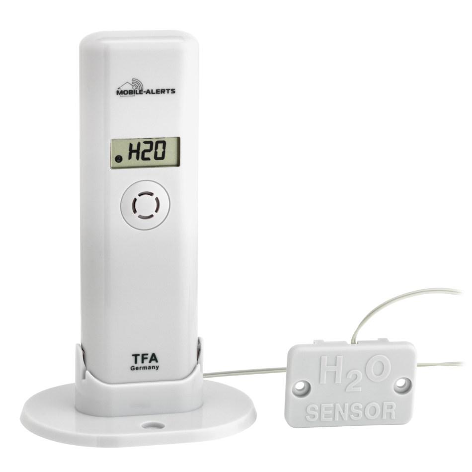 Bezdrátové čidlo teploty a vlhkosti s detekcí vody TFA 30.3305.02 pro WEATHERHUB