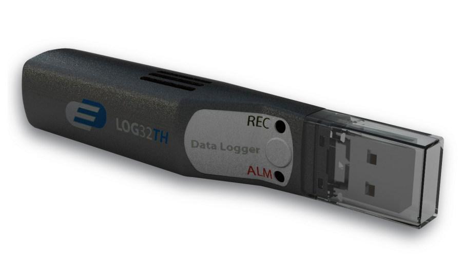 Datalogger pro měření teploty a vlhkosti s PDF výstupem a připojením USB - TFA 31.1054 LOG32 TH