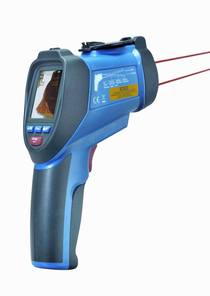 Bezkontaktní infra teploměr s kamerou TFA 31.1130