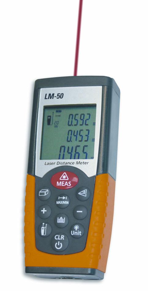 Laserový měřič vzdálenosti TFA 31.3300