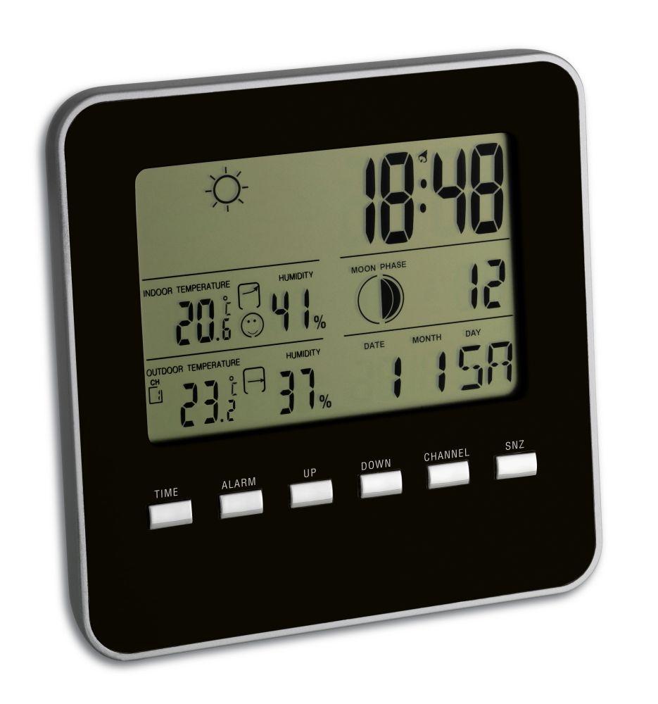 Teploměr s bezdrátovým čidlem a předpovědí počasí TFA 35.1098.01 QUADRO