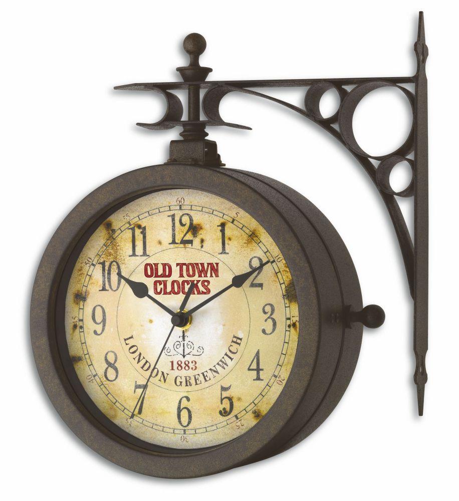 Zahradní hodiny s teploměrem TFA 60.3011 OLD TOWN