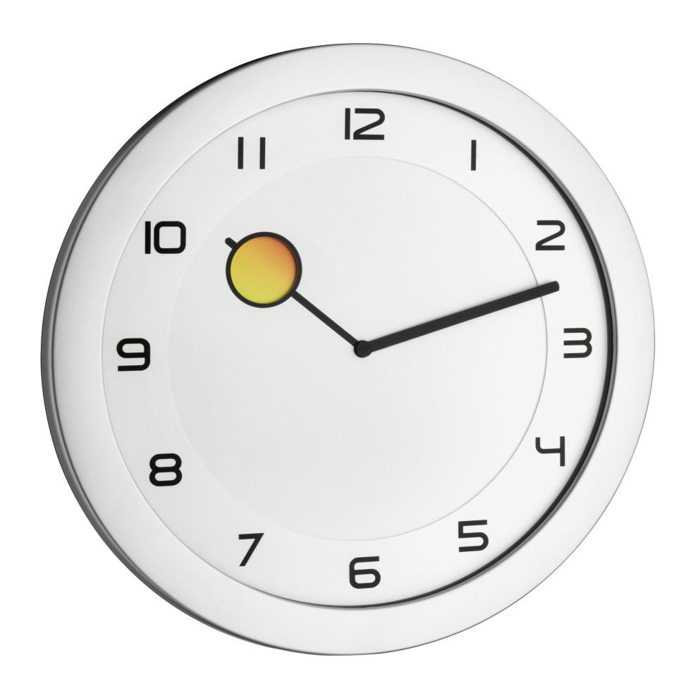 Nástěnné hodiny měnící barvu TFA 60.3028.54