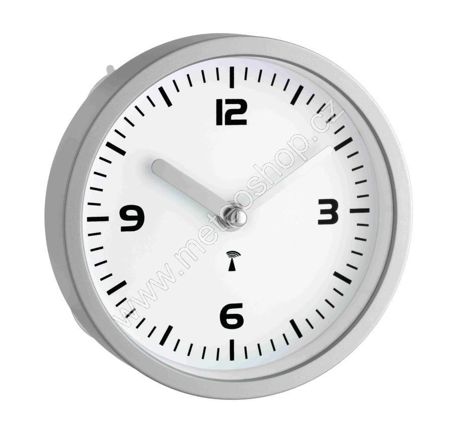 Koupelnové hodiny s přísavkami řízené DCF signálem TFA 60.3502