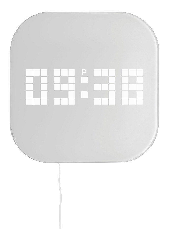 Nástěnné hodiny ze skla TFA 60.4000 DESIGN