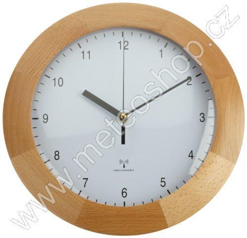 Rádiem řízené nástěnné hodiny TFA 98.1065