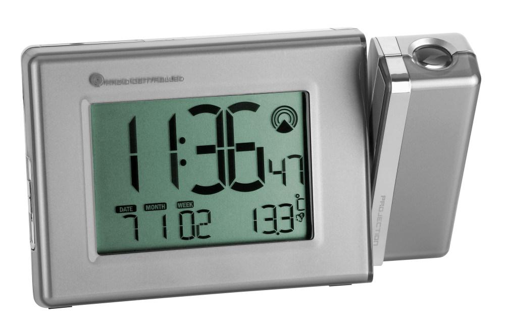 Rádiem řízené hodiny s projektorem a teploměrem TFA 98.1085