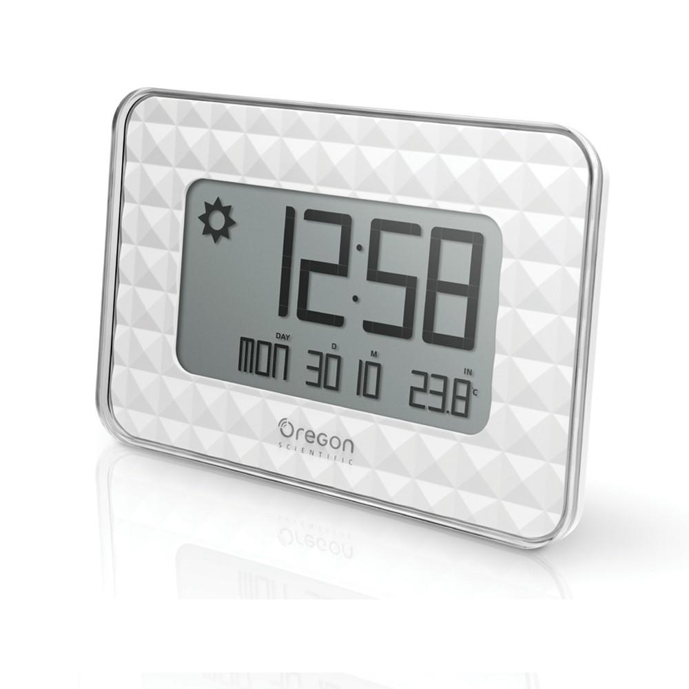 Digitální hodiny s teploměrem a předpovědí počasí Oregon Scientific JW208W