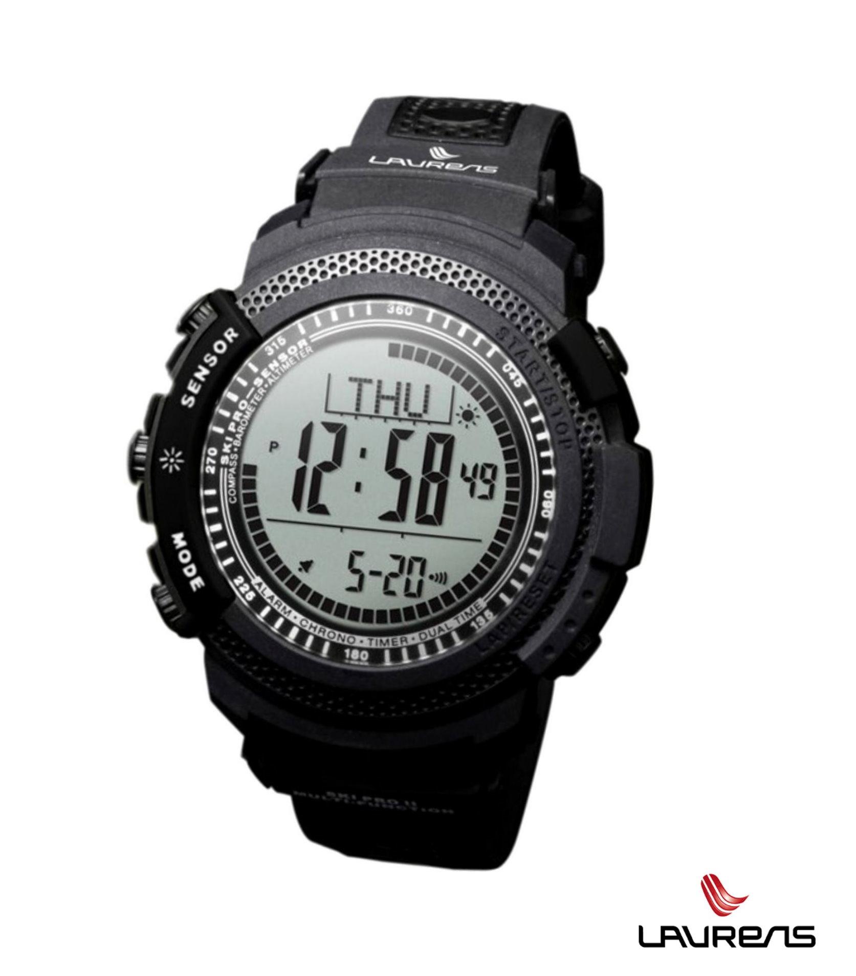 Outdoorové hodinky SKi PRO nero