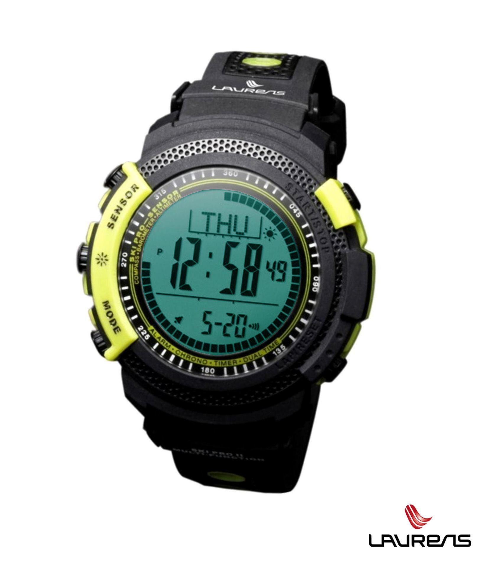 Outdoorové hodinky SKi PRO fluo