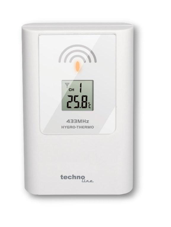 Bezdrátové čidlo pro měření teploty TX108DTH