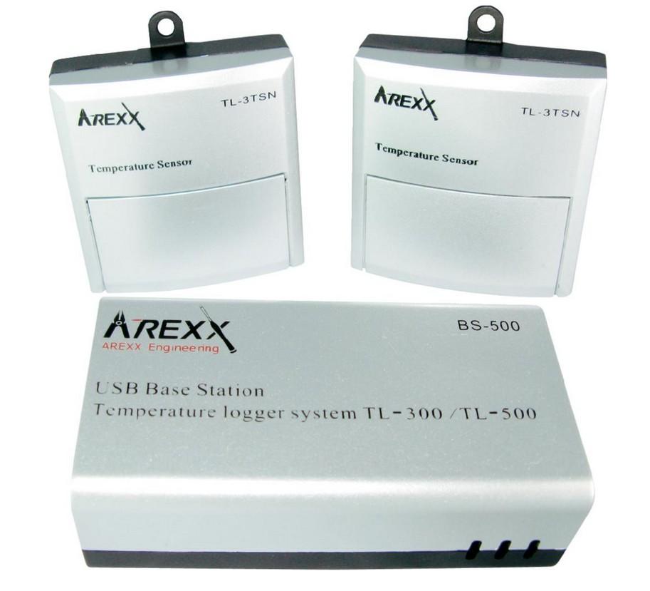 Bezdrátový datalogger Arexx + 2 teplotní čidla