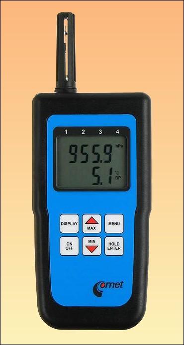Profi teploměr s vlhkoměrem a barometrem C4130 + kalibrační list