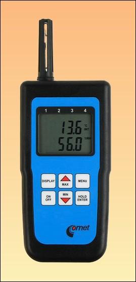 Profi teploměr s vlhkoměrem D3120 s možností záznamu + kalibrační list