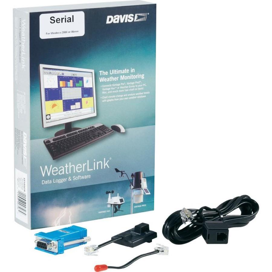 WeatherLink - připojení na PC - sériový port (RS232)