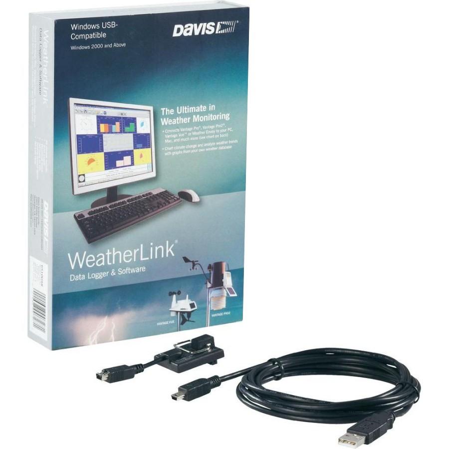 WeatherLink - připojení na PC - USB