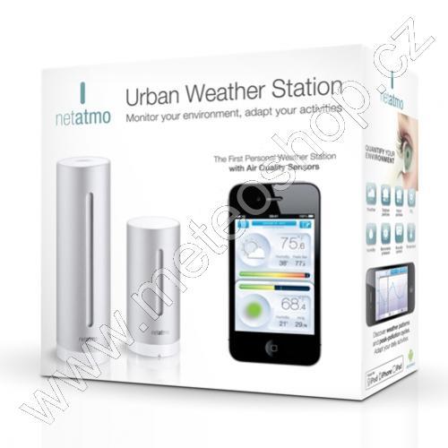Inteligentní domácí meteostanice s wi-fi připojením - Netatmo Urban Weather Station - NWS 01-EC