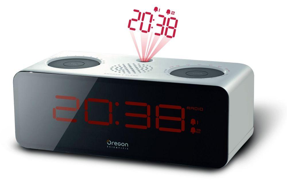 Projekční budík s radiopřijímačem Oregon Scientific RRA320PW