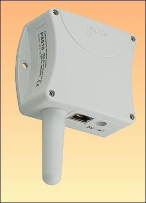 Prostorový teploměr s připojením na ethernet P8510 + kalibrační list