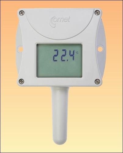 Prostorový teploměr s displejem a připojením na ethernet T0510 + kalibrační list