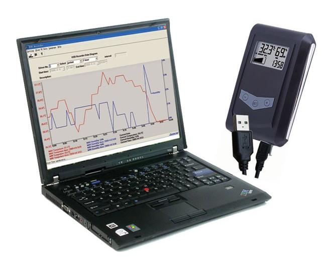 Datalogger pro měření teploty a vlhkosti T113