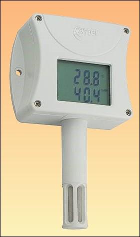 Prostorový teploměr, vlhkoměr a barometr s displejem a připojením na ethernet T7510 + kalibrační list