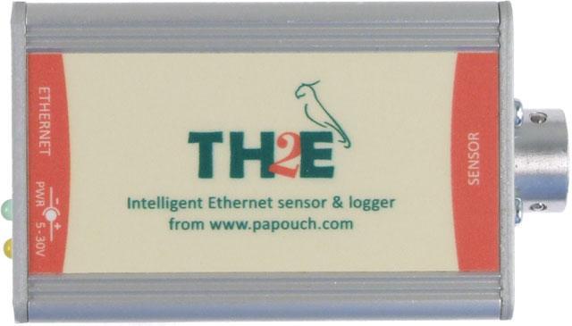 TH2E - Ethernetový teploměr s vlhkoměrem