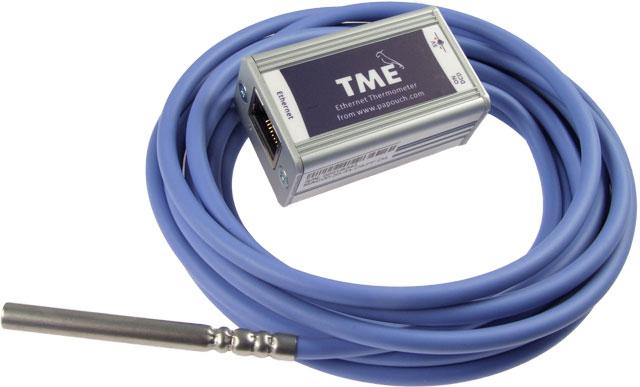 TME - teploměr připojitelný k PC - ethernet
