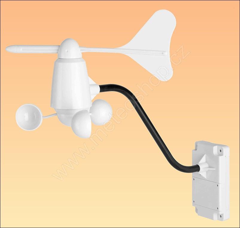 Měřič rychlosti a směru větru miskový - TS805