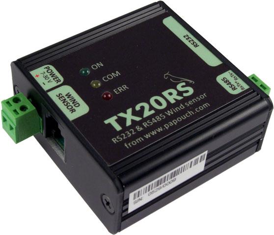 Měřič rychlosti a směru větru (anemometr) připojitelný k PC - TX20RS