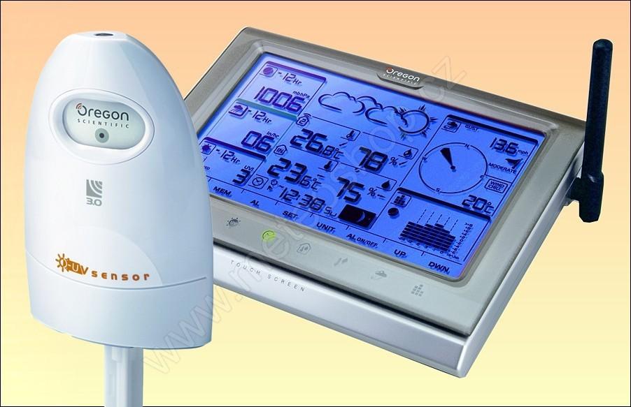 Poloprofesionální meteostanice Oregon Scientific WMR 200 plus UV senzor