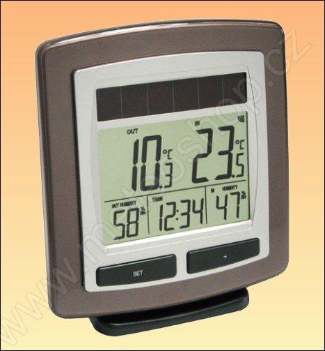 Bezdrátový teploměr s vlhkoměrem a solárním napájením WS 6010-IT - 2. jakost
