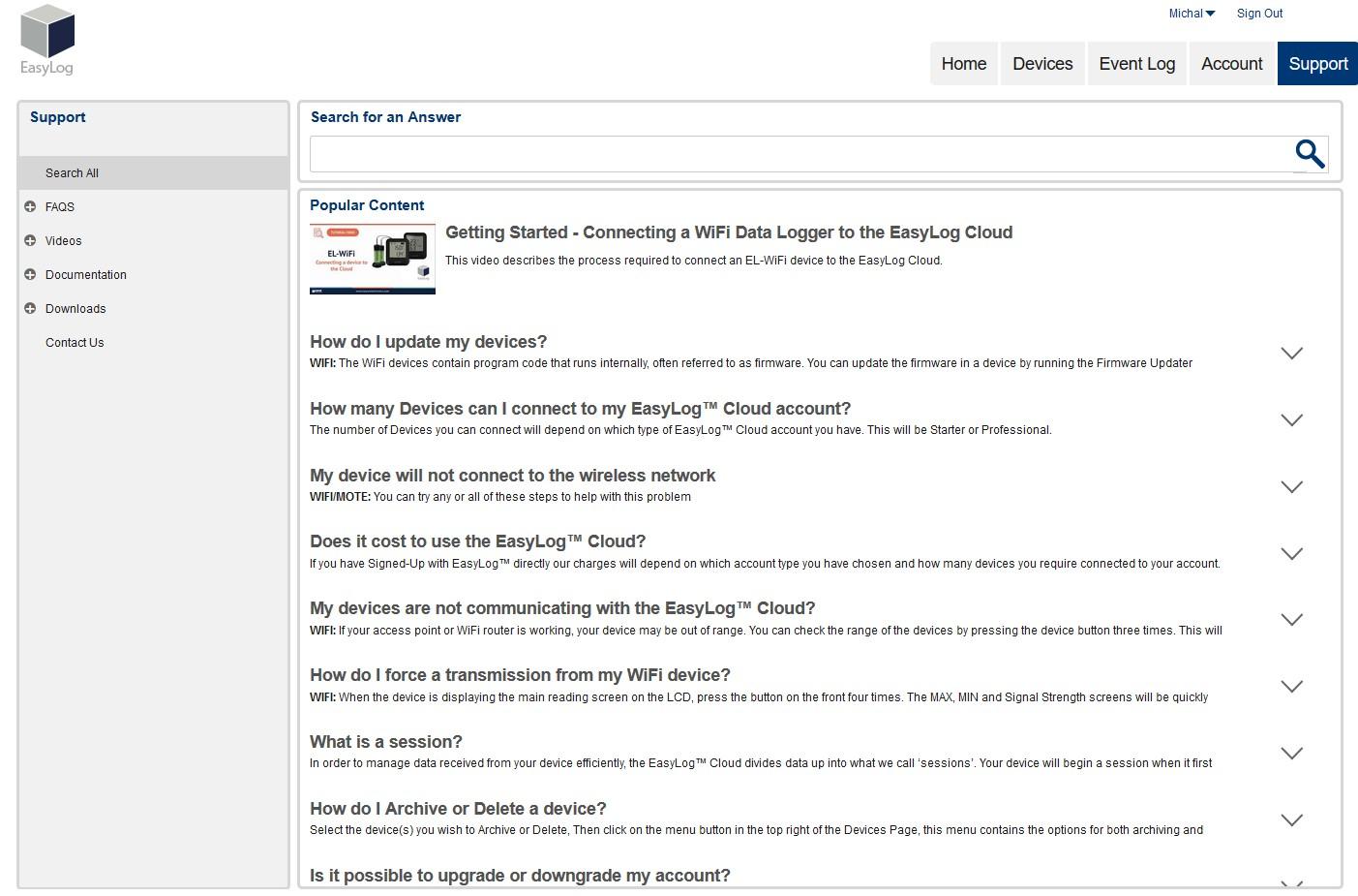EasylogCloud - časté dotazy